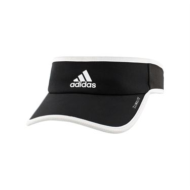 adidas Womens SuperLite Visor - Black/White