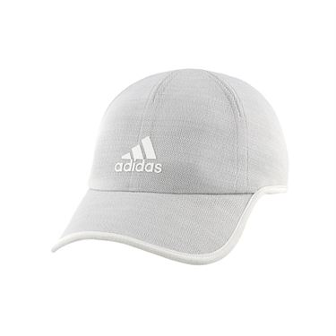 adidas Mens Superlite Prime II Hat - White/Clear Grey