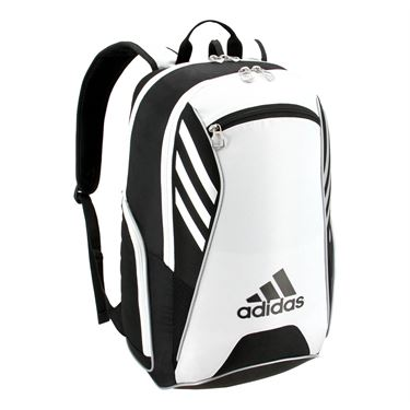 adidas Tour Tennis Backpack - Black/White/Silver