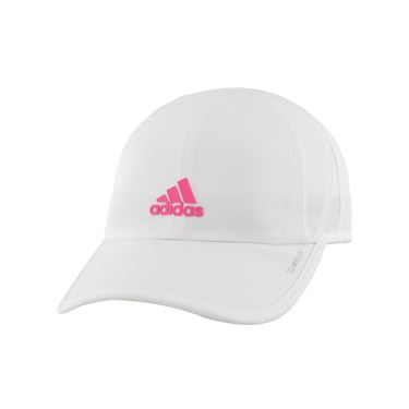 adidas Kids Superlite Hat White/Solar Pink