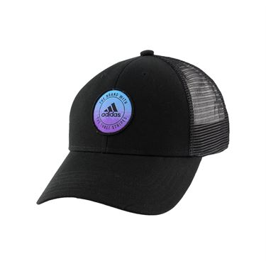 adidas Womens Notion Cap - Black/Active Purple/Shock Cyan