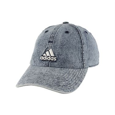 adidas Womens Saturday Plus Cap - Denim Wash/White
