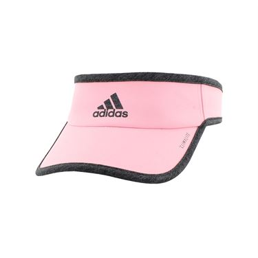 adidas Womens SuperLite Visor - True Pink/Dark Heather Grey