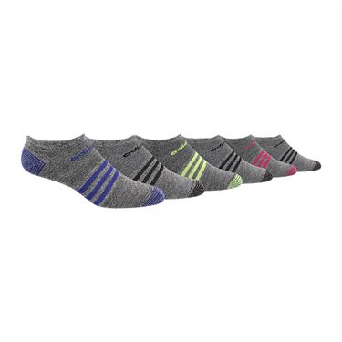 adidas Superlite No Show Sock (6 Pack) - Multi Color