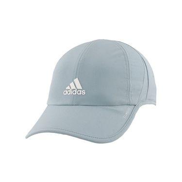adidas Womens SuperLite Cap - Ash Grey/White