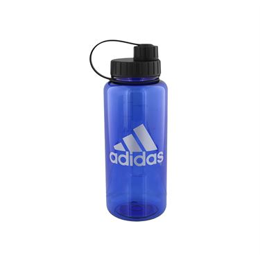 adidas All Around 1L Plastic Water Bottle - Bold Blue/Silver