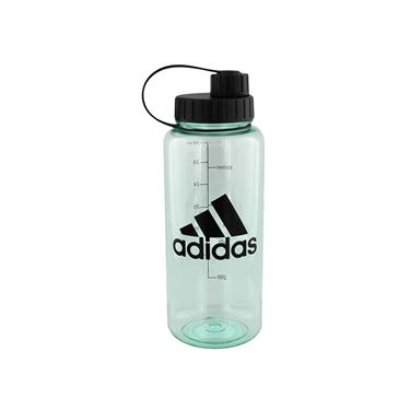 adidas All Around 1L Plastic Water Bottle - Clear Mint/Black