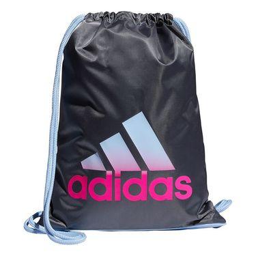 adidas Sackpack - Onix/Glow Blue/Shock Pink
