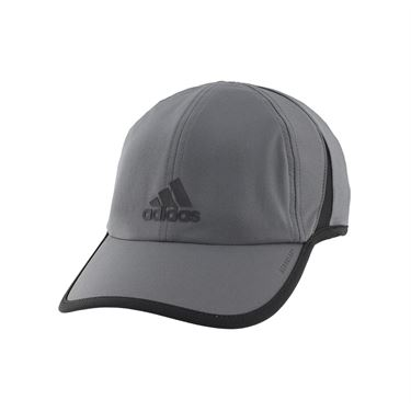 adidas SuperLite Mens Hat - Grey Six/Black