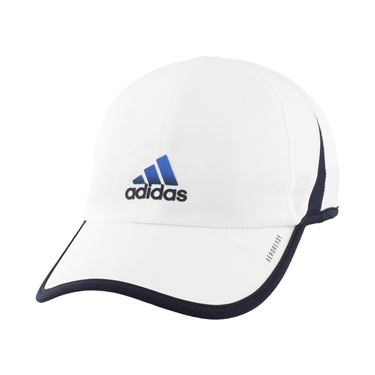 adidas SuperLite Mens Hat - White/Legend Ink Blue/Glory Blue