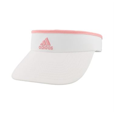 adidas Womens Match Visor - White Glory Pink