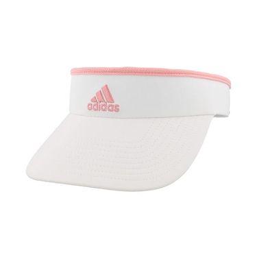 adidas Womens Match Visor - White Glory Pink