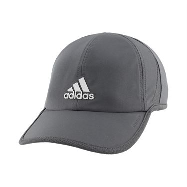 adidas Mens SuperLite Hat - Grey Six/Silver