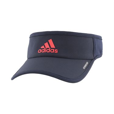 adidas Mens SuperLite Visor - Legend Ink/Scarlet