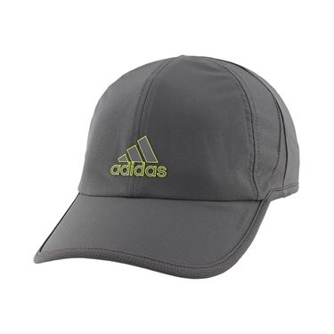 adidas Mens SuperLite Hat - Grey Six/Acid Yellow