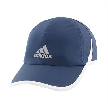 adidas Mens SuperLite Hat - Navy/White/Silver