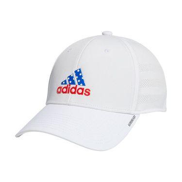 adidas Americana Gameday Stretch Fit Hat L/XL - White