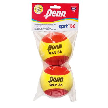 Penn QST 36 Foam Speed Ball 2 Pack