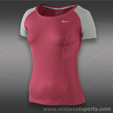 Nike Power Top-Geranium