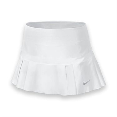 Nike Woven Pleated Skirt-White