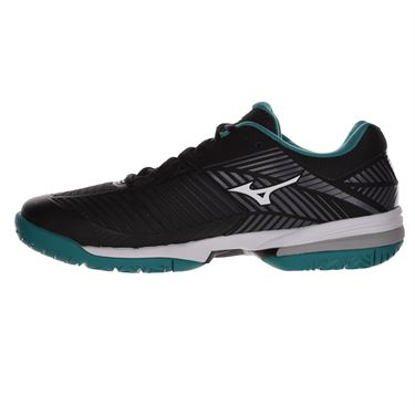 Mizuno Wave Exceed Tour 3 Mens Tennis Shoe - Black/White/Blue