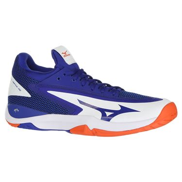 Mizuno Wave Impulse Mens Tennis Shoe - Blue/White