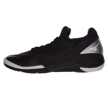 Mizuno Wave Impulse Mens Tennis Shoe - Black/Silver