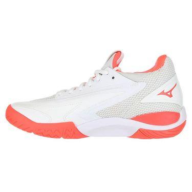 Mizuno Wave Impulse Womens Tennis Shoe - White/Red