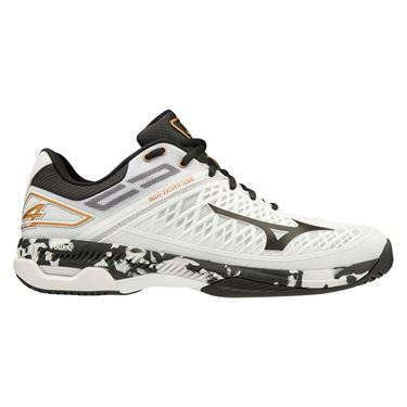 Mizuno Wave Exceed Tour 4 Mens Tennis Shoe White/Black 550019 0090