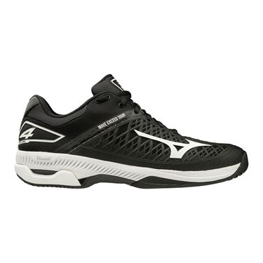 Mizuno Wave Exceed Tour 4 Mens Tennis Shoe Black/White 550019 9000