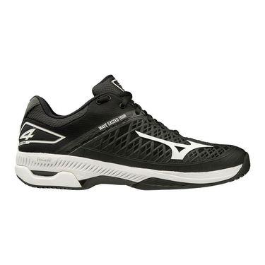 Mizuno Wave Exceed Tour 4 Mens Tennis Shoe Black/White 550019 9000