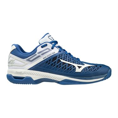 Mizuno Wave Exceed Tour 4 Mens Tennis Shoe Blue/White 550019 TB00