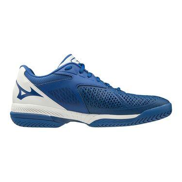 Mizuno Wave Exceed Tour 4 Mens Tennis Shoe Blue/White 550019 TB00