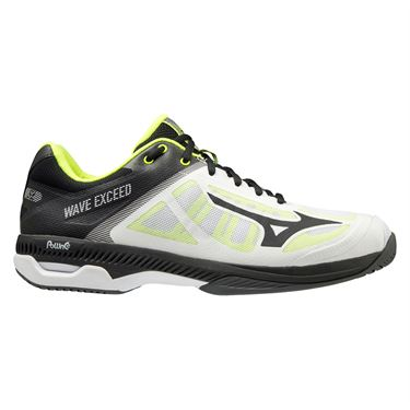 Mizuno Wave Exceed SL Mens Tennis Shoe White/Black 550023 0090