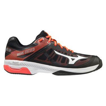 Mizuno Wave Exceed SL Mens Tennis Shoe Black/White/Red 550023 9000