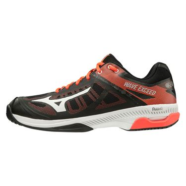 Mizuno Wave Exceed SL Mens Tennis Shoe Black/White/Red 550023 9000