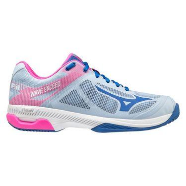 Mizuno Wave Exceed SL Womens Tennis Shoe Light Blue/Pink 550024 5551