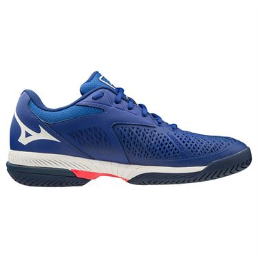 Mizuno Wave Exceed Tour 4 AC Womens Tennis Shoe Blue/White 550026 5000