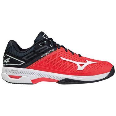 Mizuno Wave Exceed Tour 4 Mens Tennis Shoe Red/White/Black 550029 1H00