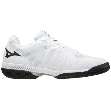 Mizuno Wave Exceed SL 2 Mens Tennis Shoe White/Black 550031 0090