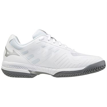 Mizuno Wave Exceed SL 2 Womens Tennis Shoe White/Silver 550032 0073