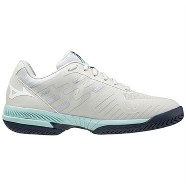 Mizuno Wave Exceed SL 2 Womens Tennis Shoe Grey/Light Blue 550032 9R00