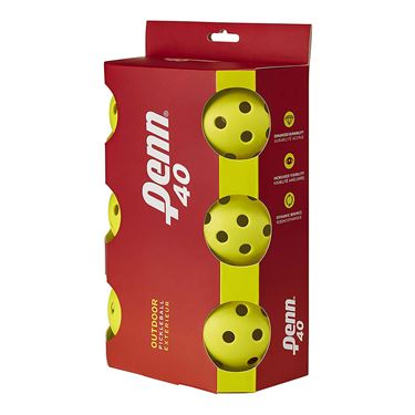 Head Penn 40 Outdoor 6 Pack Pickleball