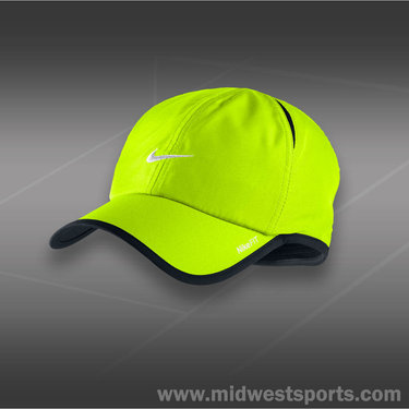 Nike Dri-FIT Mens Feather Light Hat-Volt