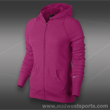 Nike Knit Sweater Jacket-Bright Magenta