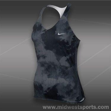 Nike Advantage Printed Tank-White
