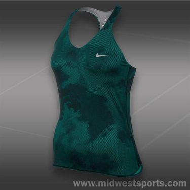 Nike Advantage Printed Tank-Turbo Green