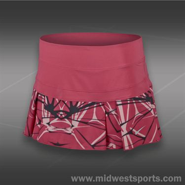 Nike Printed Pleated Woven Skirt-Geranium