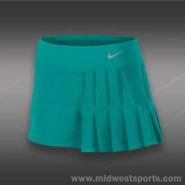 Nike Pintuck Pleated Woven Skirt-Turbo Green