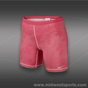 Nike Slam Printed Shorts-Geranium